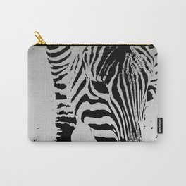 Silver Stripez Carry-All Pouch