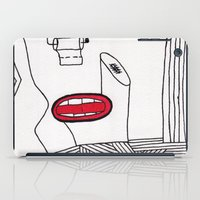 toilet iPad Cases featuring toilet by DAMlab