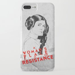 Leia - The Resistance iPhone Case