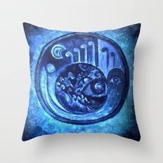 TURQUAZ Throw Pillow