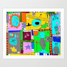 Easy Livin Art Print