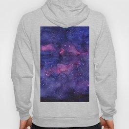 Galaxy Pattern Watercolor Hoodie