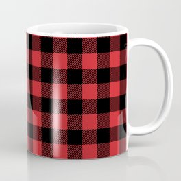 Buffalo Plaid Rustic Lumberjack Buffalo Check Pattern Coffee Mug