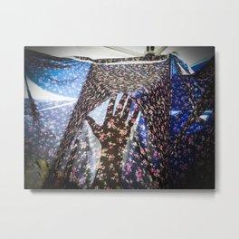 #handadventures at coachella Metal Print