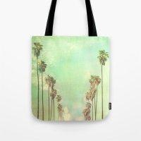 la Tote Bags featuring Los Angeles. La La Land photograph by Myan Soffia