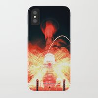 ufo iPhone & iPod Cases featuring UFO by Teodora Roşca