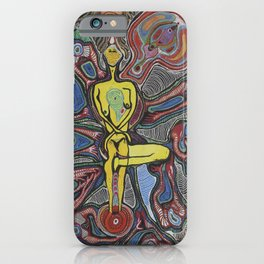 Honouring Thy Temple iPhone Case