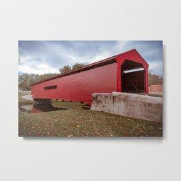Gilpin's Falls Bridge Metal Print