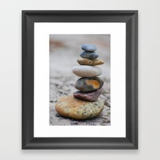 poised II Framed Art Print