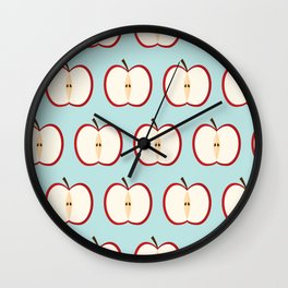 Apple party Wall Clock