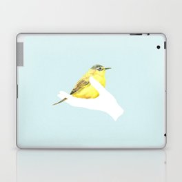 a friend in my hand - 1 Laptop & iPad Skin