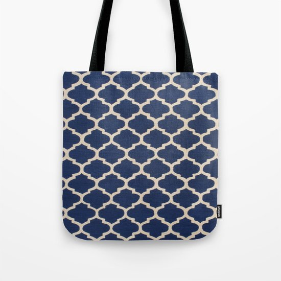 VINTAGE in NAVY Tote Bag