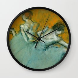 "Edgar Degas ""Dancers at the barre"" Wall Clock"