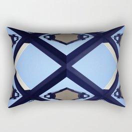 geometry and the sky Rectangular Pillow