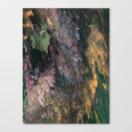 Old Tree's Spring Emerald Canvas Print