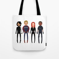 cargline Tote Bags featuring It was only a matter of time by cargline