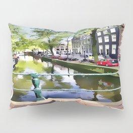 Amsterdam Canal Pillow Sham