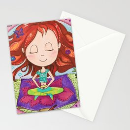 Meditation Om Zen Stationery Cards