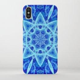 Ice Matrix Mandala iPhone Case