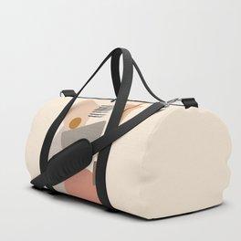 Modern Art Duffle Bag