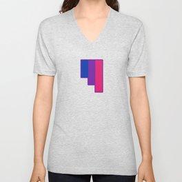 Bisexual and Biromantic Unisex V-Neck