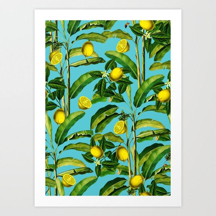 Lemon and Leaf II