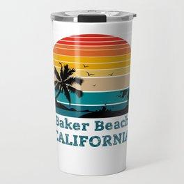 Baker Beach CALIFORNIA Travel Mug