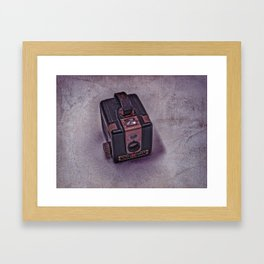 Old Brownie Camera Framed Art Print