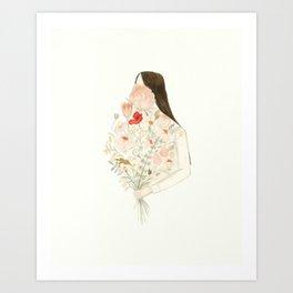 Floraphilia Art Print