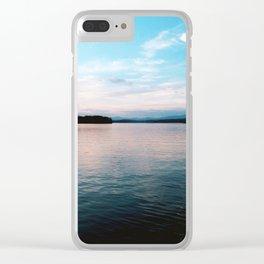 Blue Ridge Water Clear iPhone Case