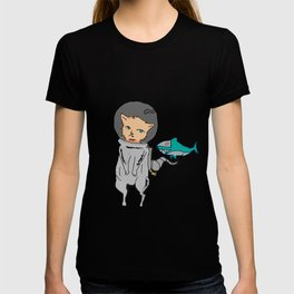 Fluffy in Space T-shirt