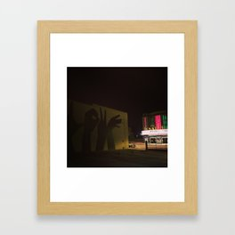 The Senator Theatre Framed Art Print