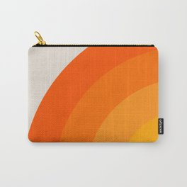Sunrise Rainbow - Left Side Carry-All Pouch