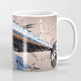 3D Model Metal Fish Coffee Mug