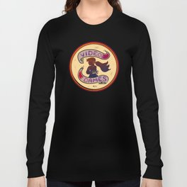 Video Dames Biker Club Long Sleeve T-shirt