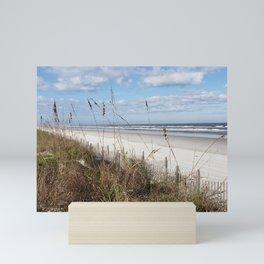 Screen of Sea Oats Mini Art Print