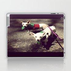 Blanca Y Lobo Laptop & iPad Skin