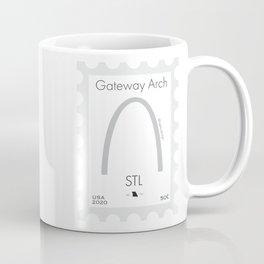 STL Gateway Arch Stamp Coffee Mug