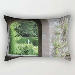 Through the Archway Rectangular Pillow