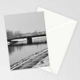Bridge over Wistula river in Kazimierz Stationery Cards