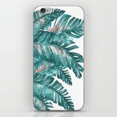tropical blue iPhone Skin