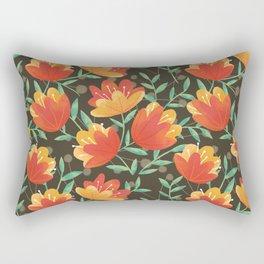 Afternoon Blossoms Rectangular Pillow