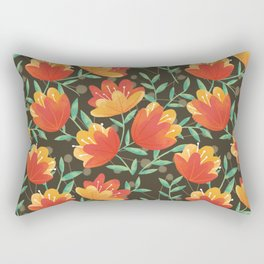 Afternoon Blossoms Rectangular Pillow