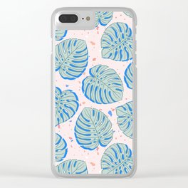 Monstera Dance Clear iPhone Case