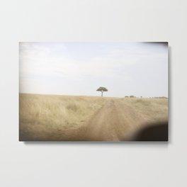 blurred vision::kenya Metal Print