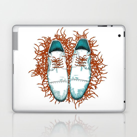 Shoes the last version  Laptop & iPad Skin