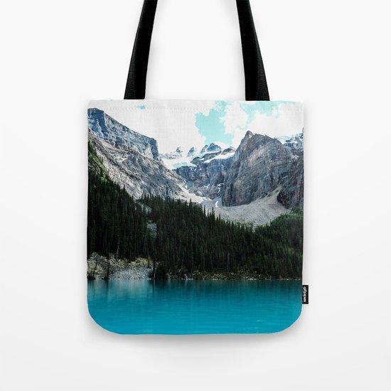 Moraine lake Wander (landscape) Tote Bag