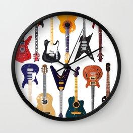 Guitars Gift Guitarist Wall Clock