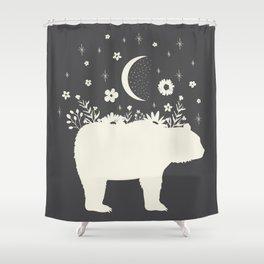 Medicine Bear Shower Curtain