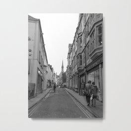 Oxford Stroll Metal Print